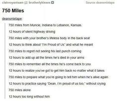 750  miles