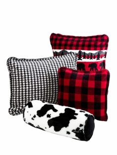 Cabin perfect pillows and throws from RusticArtistry.com