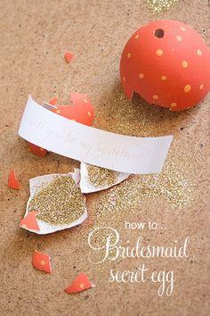Akimbo bridesmaid egg title 550x826 Will You Be My Bridesmaid? Secret Egg Tutorial