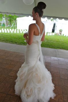 Vera Wang Gemma , $3,200 Size: 2 | Used Wedding Dresses | Wedding ...