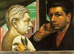 Giorgio de Chirico, 1922, Self Portrait