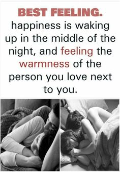 Best feeling, the awareness of the person you love next to you asleep ❤️ ⭐️ Sweet Romantic Quotes, Romantic Love Messages, Sweet Love Quotes, True Love Quotes, Love Quotes For Him, Relationship Quotes, Life Quotes, Relationships, Relationship Pictures