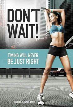 .don't wait