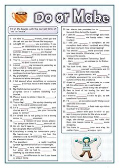 A collection of English ESL worksheets for home learning, online practice, distance learning and English classes to teach about collocations, collocations English Teaching Resources, Teaching English Grammar, English Grammar Worksheets, English Activities, Vocabulary Worksheets, Grammar Lessons, Education English, English Vocabulary, Printable Worksheets