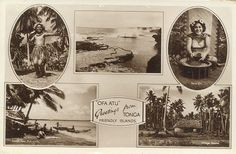 tonga | ... collection of postcards, images and handicrafts from Tonga