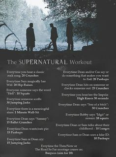 Supernatural Workout Mehr