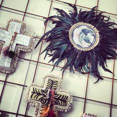 Jai Vasicek Summer 2015 Three Birds, Cross Art, Bohemian House, Air Dry Clay, Crosses, Summer 2015, Diy Art, Art Decor, Diys