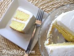 Lemon Icebox Cake with Lemon Curd & Cream Cheese Frosting