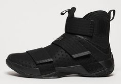 "Nike Lebron Soldier 10 ""Triple Black"" - EU Kicks: Sneaker Magazine"