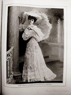 A la Recherche des Modes Perdues et Oubliées: Les Modes - Aout 1904