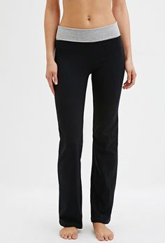 Active Fold-Over Flared Pants