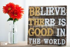 A Little Rustic and A Lot Cute - Wooden Home Decor Sign
