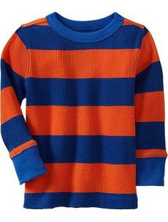 Long-Sleeved Waffle-Knit Tees for Baby | Old Navy