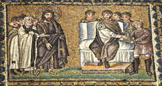The Trial Before Pilate Church of Sant'Apollinare Nuovo, Ravenna