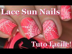 [ Nail Art ] Bridal Nails Tutorial - Comment faire un Stamping Dégradé // melyne nailart - YouTube