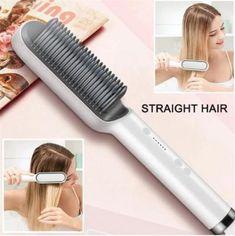 Professional Electric Hair Straightener & Curler Easy Short Haircuts, Short Hair Cuts, Easy Hairstyles, Straight Hairstyles, Hair Straightener And Curler, Hair Straightening, Dull Hair, Silky Hair, Curlers