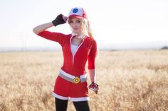 Pokémon Go Cosplay Represents Team Valor