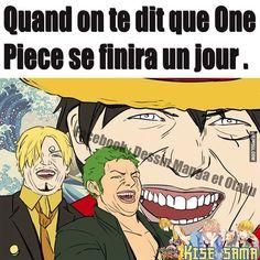 Quand on te dit que One Piece se finira un jour… | Be-troll