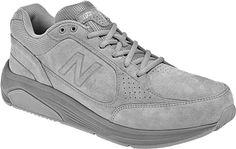 New Balance MW928 Walking Shoe - Grey Suede - FREE Shipping & Exchanges | Shoebuy.com