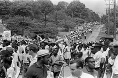Image from the Meredith March against Fear, Mississippi, 1966.
