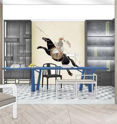 Yabu Pushelberg, Hotel Concept, Interior Design Sketches, Office Sofa, Wood Images, Reading Room, Presentation Design, Banner Design, Modern Classic