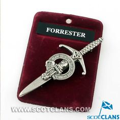 Forrester Clan Crest Kilt Pin