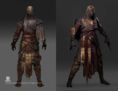 ArtStation - Assassin's Creed: Origins Mummy Outfit Concept, Jeff Simpson