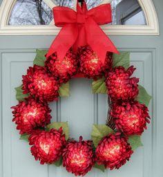 Valentine Wreath - Valentine Door Wreath - Wreath for Valentines Day