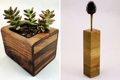 You'll be able to snag these gorgeous planters at Re:Make Austin.