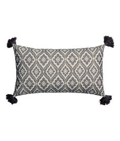 Jacquard-weave Cushion Cover   Product Detail   H&M