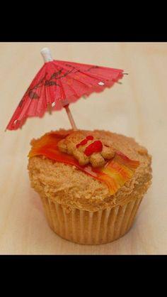 Kids cupcakes beach theme