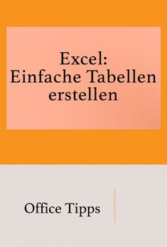 Excel Kenntnisse Improve knowledge of Excel: Create and format a simple table. Computer Technology, Digital Technology, Computer Science, 10 Finger System Lernen, Whatsapp Tricks, Learning Ability, Windows System, Complex Systems, S Pic