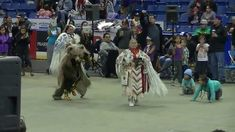 Bear Dancer ( Laura Grizzlypaws ) @ FSIN 2013http://www.powwows.com/2014/03/21/statimc-grizzly-bear-dancer-shares-her-story/