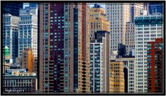 """Concentrated NYC"" - Buildings of New York - NY - Zoom"