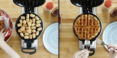 You Haven't Lived Until You've Tried a Tater Tot Waffle  - Cosmopolitan.com