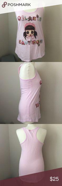 NWOT Melanie Martinez Tank Completely NWOT. Pink tank. Hot Topic Tops Tank Tops