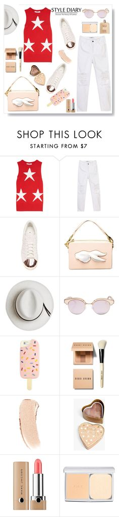 """""""Comfort zone .."""" by gul07 ❤ liked on Polyvore featuring MaxMara, adidas, Andres Gallardo, Calypso Private Label, Le Specs, Tory Burch, Bobbi Brown Cosmetics, Boohoo, Marc Jacobs and RMK"""
