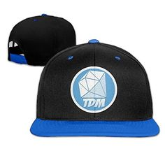 HIPHOP Cool Adjustable DanTDM Hat Men. One Size And It Is A Great Cap For Both Men And Women. Perfect For Sports Teams (baseball, Tennis, Outdoors) Or Send To Someone Who Is A Sports Enthusiast. DanTDM Hat. Built-in HeatGear Sweatband Wicks Away Sweat To Keep You Cool & Dry. Suitable For Men And Women Of All Ages In All Seasons.