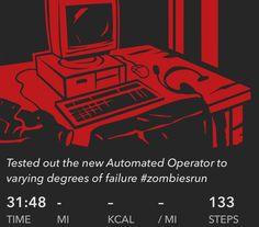 Tested out the new Automated Operator to varying degrees of failure #zombiesrun