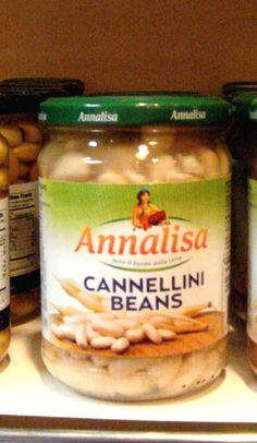 Italian cannellini beans, delicate taste, great for salads and soups!!!