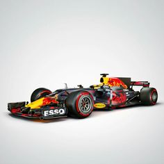 2017/2018 Red Bull F1 car