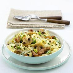 Pasta met filet en champignons #SnelKlaar #WeightWatchers #WWrecept