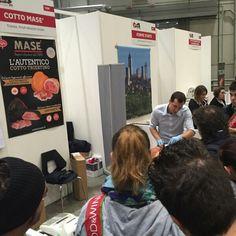 #Golosaria2015 Grandissimo successo riscontrato da Masè a uno degli eventi gastronomici più importanti a livello nazionale. Vi aspettiamo allo stand 122 F !  Visita il nostro sito www.cottomase.it   #cottomase #cottotrieste #slowfood #streetfood #gamberorosso #tradizione e #gusto #cracco #bastianich #giallozafferano #foodporn #Expo2015 #Milano #food #eat #eating #italian #italy #ham #made #in #trieste #cotto #quality #masterchef