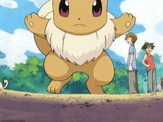 Cute Eevee Gif. #Pokemon #Eevee #Gifs