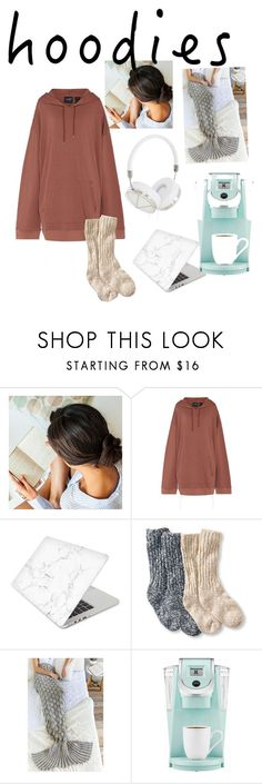 """""""HOODIES"""" by gabbyreyes687 ❤ liked on Polyvore featuring Garnier, Puma, Recover, L.L.Bean, Shiraleah, Keurig, Frends and Hoodies"""