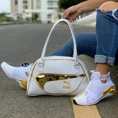 High quality Puma bag and shoes