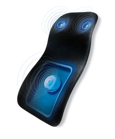 Vibroacoustic Therapy System plays back nature sounds, music and therapy sounds based on Delta, Alpha or Theta brainwaves that coax your brain to match these frequencies and enter states of sleep, relaxation and renewal.