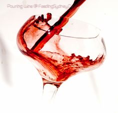 Wine looks as good as it tastes. Pouring Wine, Alcoholic Drinks, Glass, Drinkware, Corning Glass, Liquor Drinks, Alcoholic Beverages, Liquor, Yuri