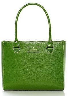 Wellesley Quinn Kate Spade Green Bag