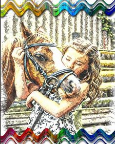 Horse Notebook: College Ruled - Lined Journal - Composition Notebook - Soft Cover Writer's Notebook or Journal for School - College or Work - Child With Horse Writers Notebook, Composition, College, Printable, Posters, Horses, Journal, Amazon, Cover